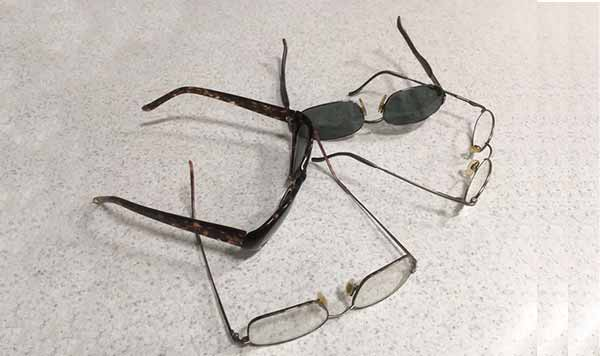 No Charge Repairs of Glasses, Frames, and Nose Pads