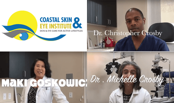 specialized dermatologists, Doctors Christopher Crosby and Maki Goskowicz, and an ophthalmologist, Doctor Michelle Crosby